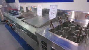 304 Stainless Steel Commercial Induction Griddle pictures & photos