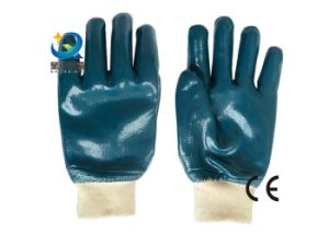 Nitrile Gloves, Labor Protective, Safety Work Gloves (N6033) pictures & photos