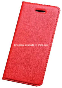 Fashion and Best Selling Leather for iPhone 5 Case (KCI02-3)