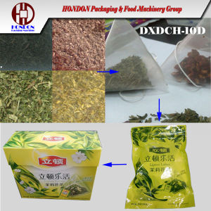 Automatic Herbal Tea Bag Packaging Machinery (Model DXDCH-10D) pictures & photos