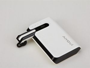 High Quality Special Designed Portable Power Bank Built-in Headset