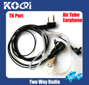 High Quality Clear Tube 2-Way Radio Earphone K06 for Radios pictures & photos