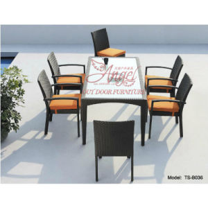 Workmanship Rattan Modern Patio Dining Leisure Outdoor Table for Garden