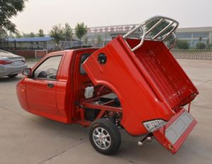 EEC Approval Pickup Tricycle Car Heavy Carrying Cargo 600cc