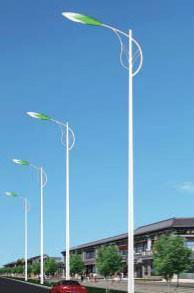 High Quality Steel Light Pole in China pictures & photos