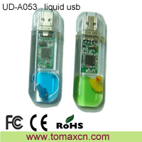 Liquid Plastic USB Pendrive Flash Drives Bulk (UD-A053)