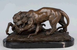 Bronze Sculpture Animal Statue (HYA-1053)