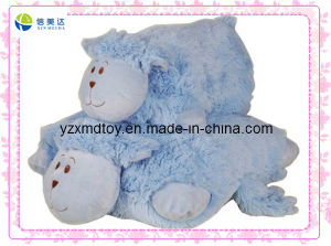 Blue Sheep Soft Plush Animal Shaped Pillow (XDT-0263) pictures & photos