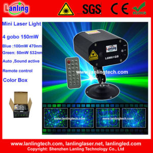 Remote Control Mini Gobo Laser Light