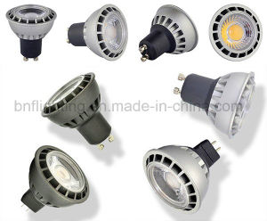 GU10 LED COB Thermalplastic Spotlight for 3W/5W/7W with Ce Saso pictures & photos