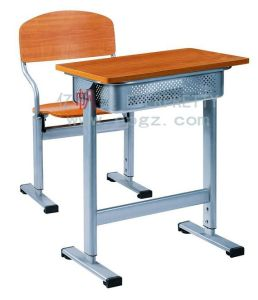 New Arrival Wooden School Student Study Desk and Chair for Primary School pictures & photos