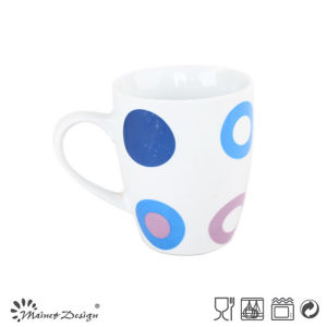 10oz Porcelain Ceramic Coffee Mug with Decal for Promotion pictures & photos