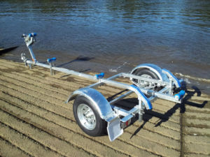 Hot Galvanizing Boat Trailer Cbt-J40