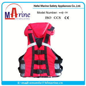 Kayak Life Vest/Sport Life Vest/Adjustable Kayaking Red Life Jacket pictures & photos