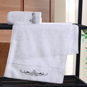 100% Cotton Best Sale Embroidery Luxury Hand Towel (DPF9076) pictures & photos