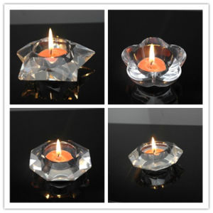 New Design Crystal Tea Light Candle Home Decoration Crystal Candleholder pictures & photos