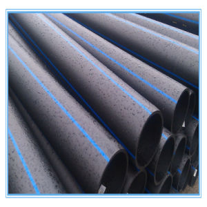 Black Corrugated Plastic Steel Reinforced HDPE Pipe pictures & photos