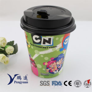Disposable Wholesale Coffee Beverage Drinking Paper Coffee Cup pictures & photos