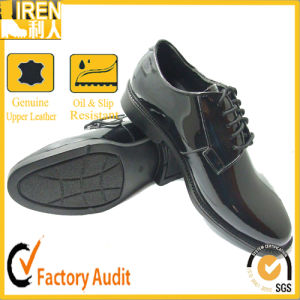 2017 China Hot Sale Best Quality Cheap Price Military Police Office Shoes pictures & photos