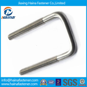 High Strength Low Price 304 316 Stainless Steel Square U-Bolt pictures & photos