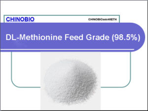 Feed Grade Dl-Methionine 98.5% for Poultry and Animal Feed Additives