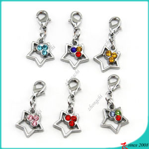 Metal Small Star Charms for Bracelet Charms (SPE)