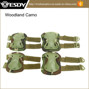 7colors Airsoft Hunting Knee & Elbow Pads pictures & photos