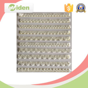 Embroidery Most Popular Beautiful and Lovely Floral Chemical Lace Trim pictures & photos