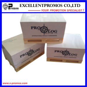 Wooden Pallet Memo Sticky Notes Block for Promotion (EP-P7158) pictures & photos