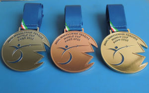 Casting Sport Medals Cut Shape Medals for Sport Players pictures & photos