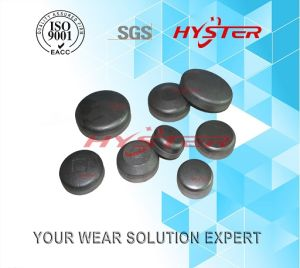 China Manufacturer 700bhn Bimetallic ASTM A532 Cast Iron Wear Buttons Wb90 pictures & photos