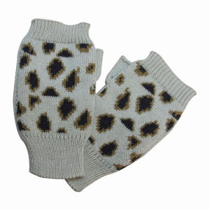 Lady Fashion Acrylic Knitted Fingerless Winter Warm Gloves (YKY5417) pictures & photos