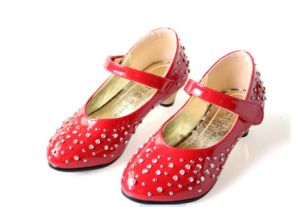Fashion Flat Casual Girls Childrens Shoes (K 19)