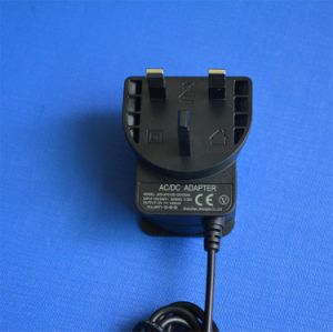 UK BS Plug 24V 0.5A 12V 1000mA Switching Power Adapter