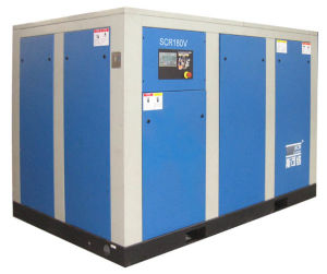 Variable Speed Driven Rotary/Screw Air Compressor (SCR220V Series) pictures & photos