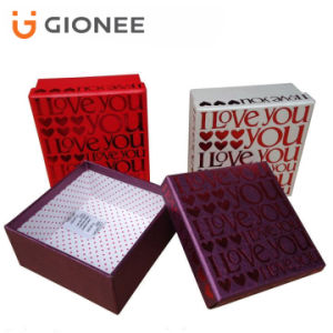 Customized Paper Board Gift Box/ Lid & Base Watch Box pictures & photos