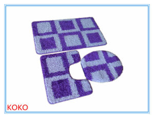 Water Absorb 3 Pieces Toilet Rugs Set