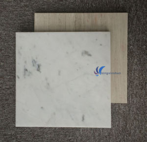 Customized Natural White Beige Wood Marble Tile pictures & photos