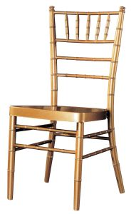 Aluminum Chiavari Chair for Hotel Used (JA12032)