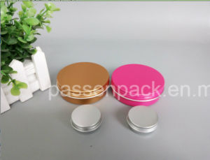 Colored Aluminium Cosmetic Jar with Reach Certification (PPC-ATC-004) pictures & photos