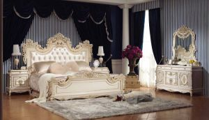 Classical MDF Bedroom Furniture Bedroomset (837)
