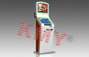 Custom Ticket Vending E-Payment Kiosk with Thermal Printer and Finger Print Reader pictures & photos