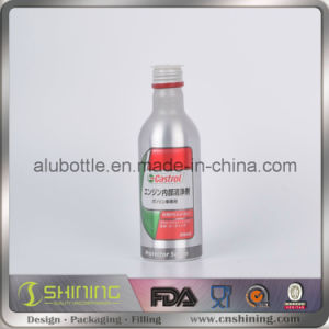 Aluminum Engine Oil Bottle