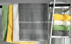 China Wholesale Cotton Plain Dyed Solid Color Bath Towel Hand Towel