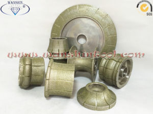 Electroplated Diamond Profiling Wheel High Quality pictures & photos