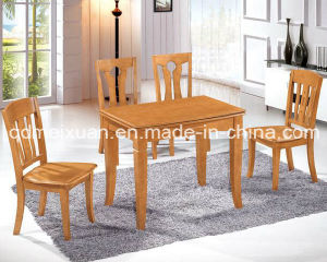 Solid Wooden Dining Table Living Room Furniture (M-X2876) pictures & photos