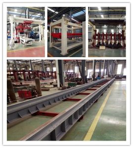 Fly Ash Bricks Machine/AAC Production Line/Autoclaved Aerated Concrete Block Machine Manufacture pictures & photos