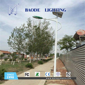 7-9m 60W LED Lithium Battery Solar Street Light pictures & photos