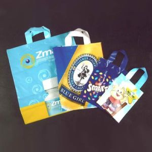 High Quality, Colorful, Characteristic and Printing Shopping Plastic Bag