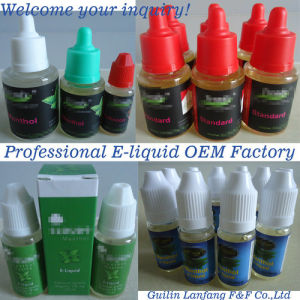 Comepetitive Variety of Free Nicotine Tabacco Flavor E Liquid Concentration